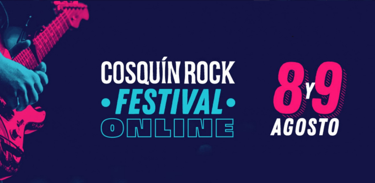 Cosquin Rock 2020 Festival Online Virtual